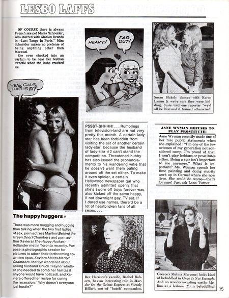 DYKE A Quarterly #1 p.75 Lesbo Laffsjpg