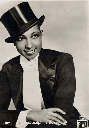 Josephine baker in tuxedo