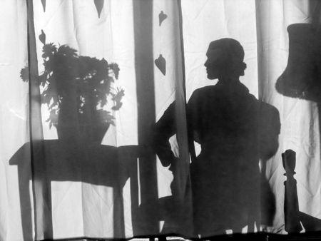Mannequin silhouette, adel rootstein mannequin, Liza Cowan photo, retail window design