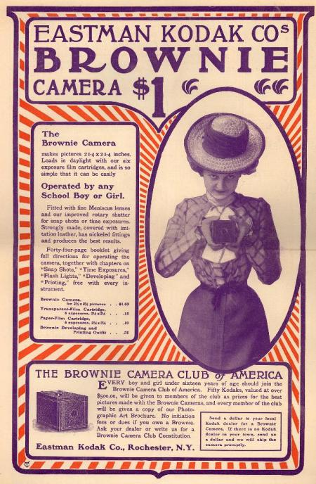 Brownie Camera Ad, Duke University Collection