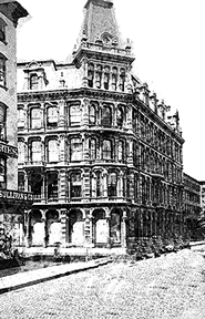 Lord & Taylor, ladies mile, James H. Giles architect, 19th century department store, shopping NYC