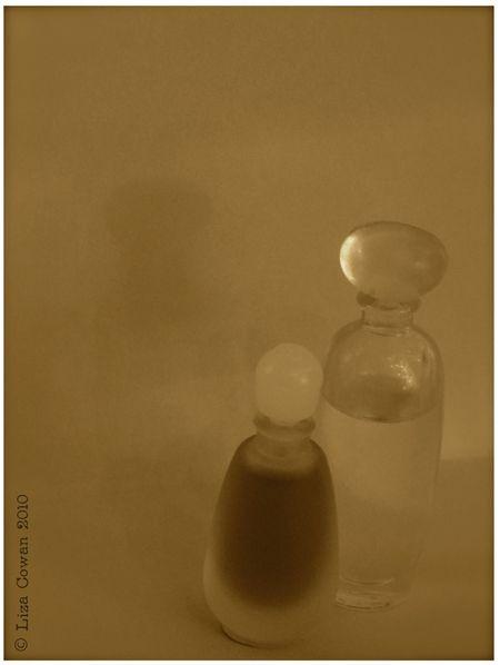 Estee Lauder Private Collection, Mini vintage perfume bottle, vintage perfume, photo ©liza cowan 2010