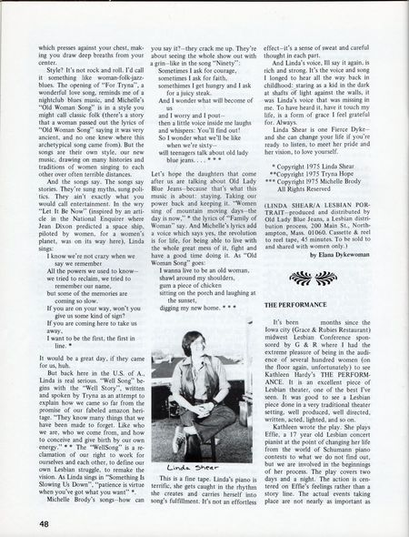 Dyke No 3 p 48 reviews