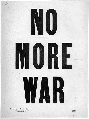 NO MORE WAR national council for reduction of armaments 1922