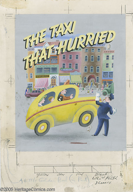 tibor gergely the taxi that hurried