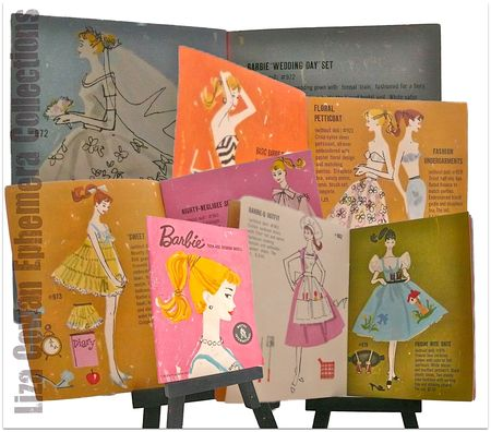Barbie booklet 1958 pages photo ©liza cowan ephemera collections