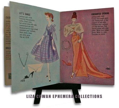 Barbie booklet 1958, Let's Dance, Enchanted Evening