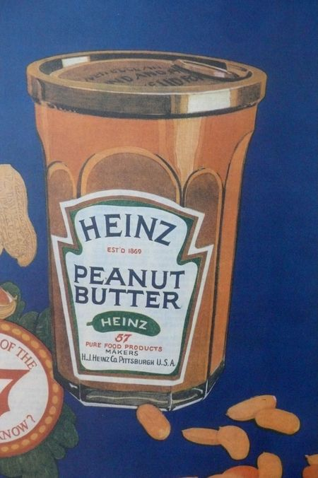 heinz peanut butter ad 1925 saturday evening post detail