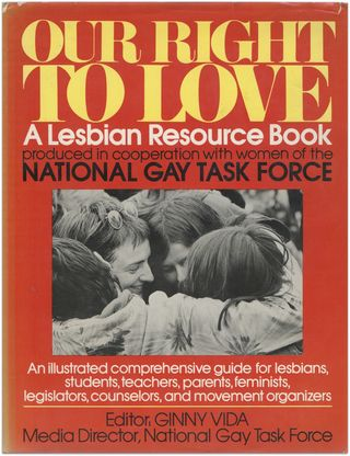 Our right to love, ginny vida ed. 1978