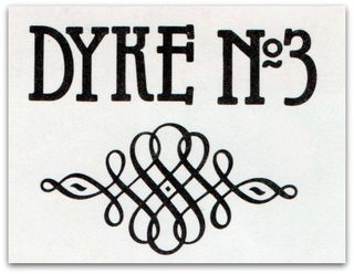 Dyke a quarterly,DYKE No 3, for contents page