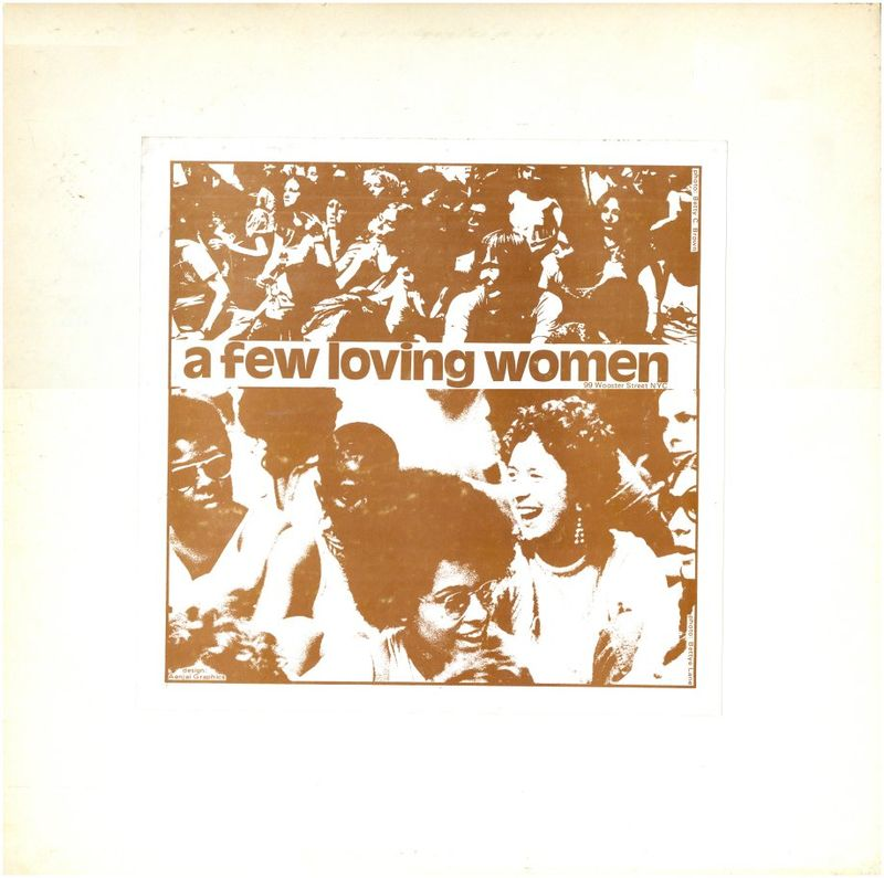 A Few Loving Women, record album, lesbian liberation front photo from queermusicheritage
