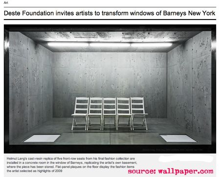 Deste Foundation invites artists to transform windows of Barneys New York | Art | Wallpaper* Magazine_ design, interiors, architecture, fashion, art