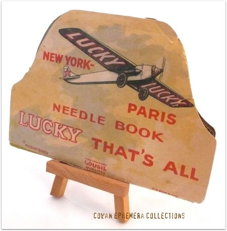 Needle pack lucky lucky new york paris Liza oan Ephemera collectioan