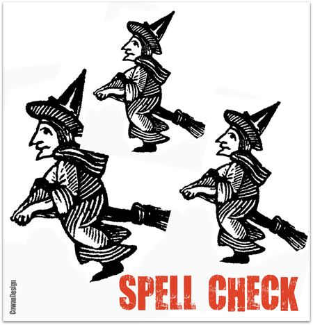 Three witches spell check