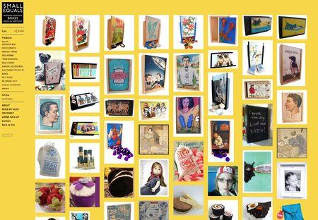 ©small equals online store at Big Cartel