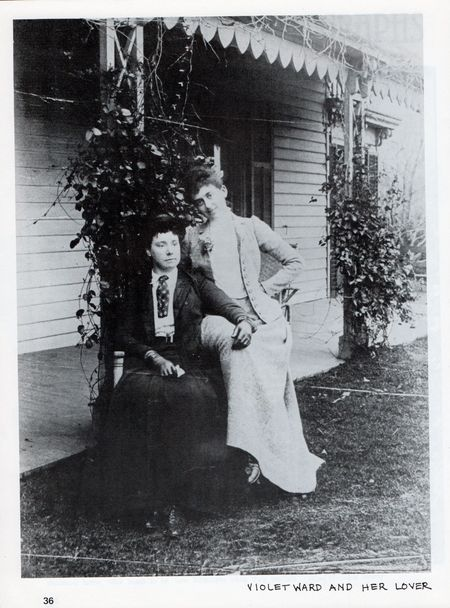 Alice austen photo of violet ward and her lover. Dyke a quarterly no 3 p
