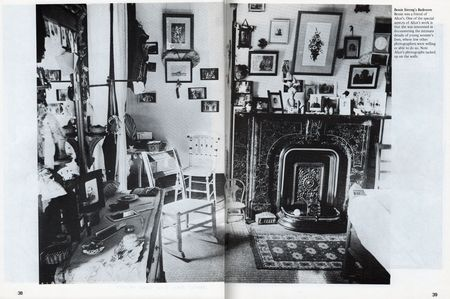 Alice Austen, Bessie Strong's Bedroom, in DYKE A Quarterly no 3, 1976.