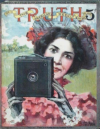 kodak, woman photographer. 1898