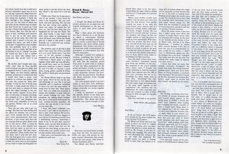 Dyke a quarterly no 3 pp 8,9 letters to editor