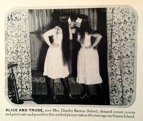 Alice Austen and trude in LIFE MAG 1951
