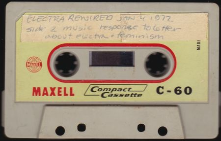 Electra rewired 1972 cassette tape aircheck