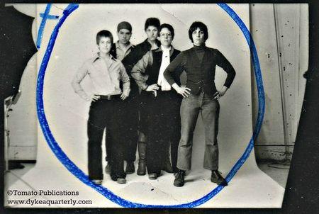 DYKE A Quarterly original shot for publicity flier 1975