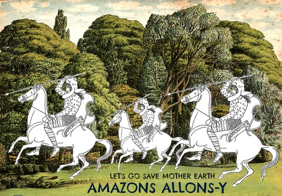 AMAZONS ALLONS Y ENGLISH TREES LARGE