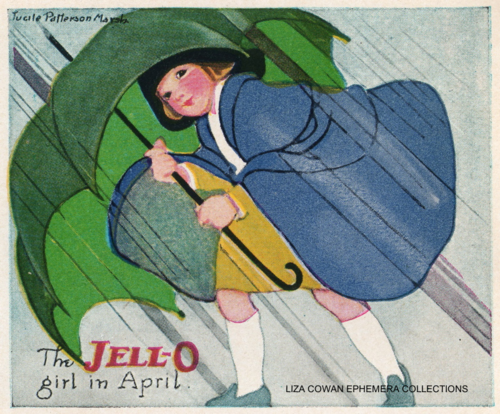 lucille patterson marsh, jello 1924, liza cowan ephemera collections, april