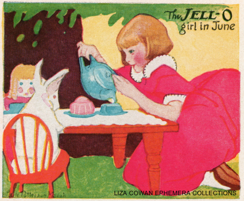 lucille patterson marsh, jello june 1924, Liza Cowan Ephemera collections