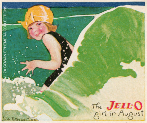 lucille patterson marsh, jello august 1924, liza cowan ephemera collections