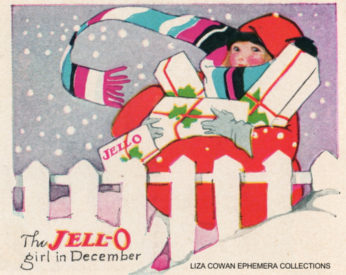 lucille patterson marsh, jello december 1924, liza cowan ephemera collections