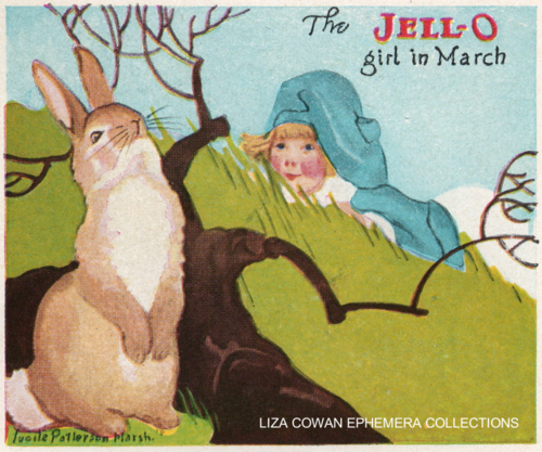 lucille patterson marsh, jello 1924, march, liza cowan ephemera collections