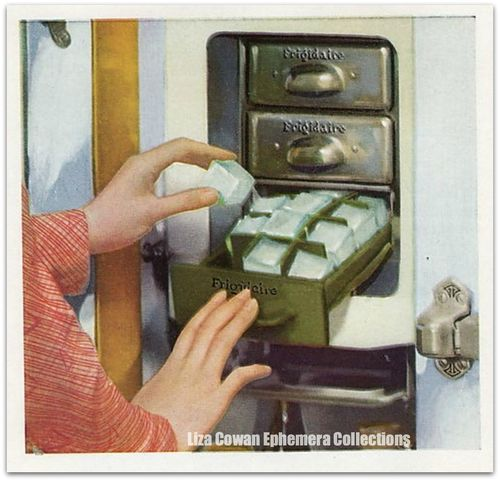 Frigidaire ice cowan ephemera collectionsations