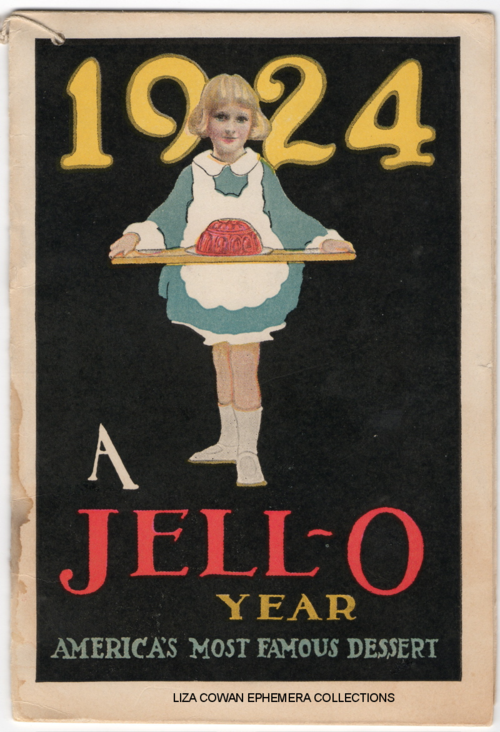 Lucille Patterson Marsh, jello 1924, liza cowan ephemera collections