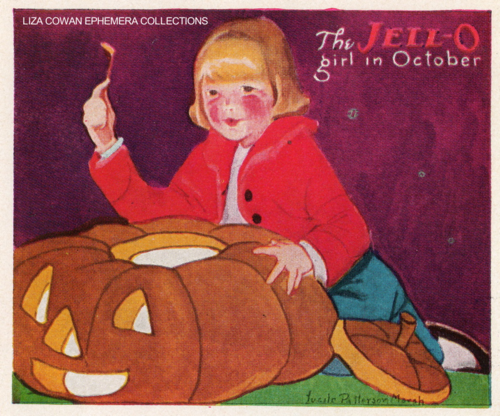 lucille patterson marsh, jello october 1924, liza cowan ephemera collections