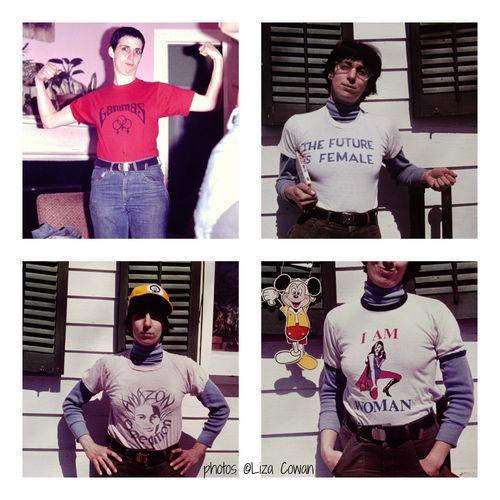 Alix-dobkin-t-shirt-collage-photos-%C2%A9Liza-Cowan