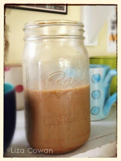 Coffee smoothie ©Liza Cowan