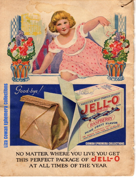 Jello girl no matter where you live COWAN EPHEMERA COLLECTIONS