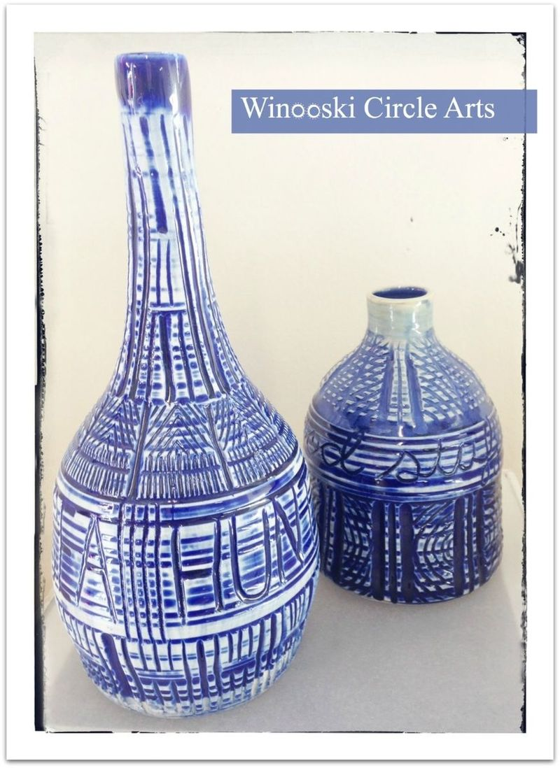 Alex costantino vases winooski circle