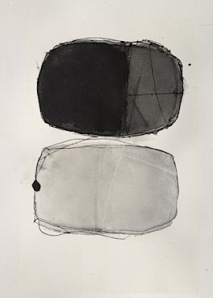 Liza Ciano Grey August 11, 8x10 guache, watercolor, ink, graphite on paper, winooski circle arts, vermont