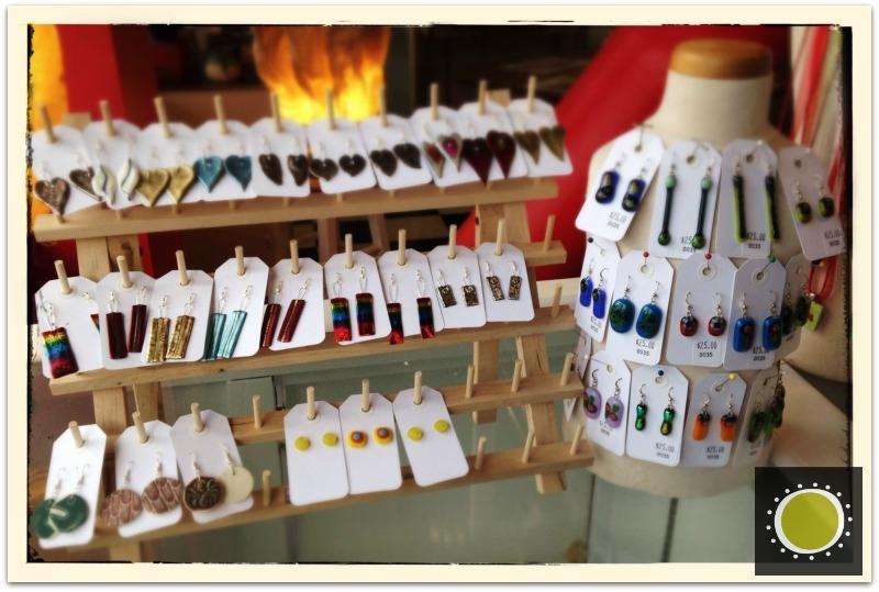 Earrings at winooski circle arts, vermont.