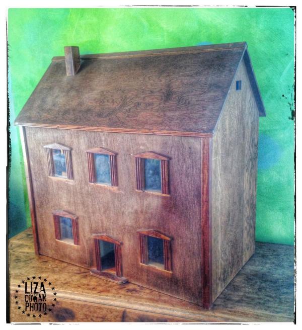 Wooden doll house liza cowan photo
