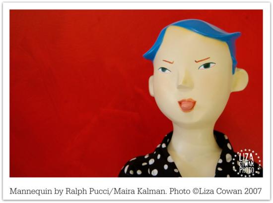 Mannequin Ralph PucciMaira Kalman photo ©Liza Cowan 2007