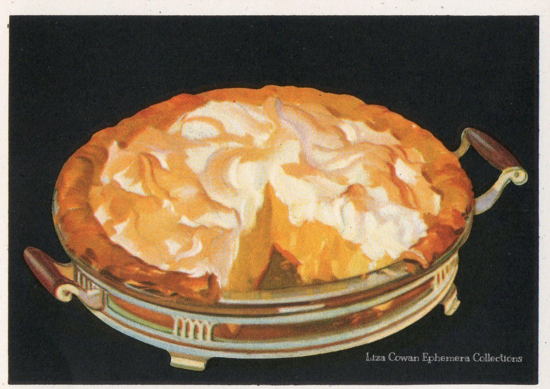 Lemon pie illustration Merritt Cutler