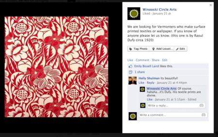 Converse with your customers. winooski circle arts.
