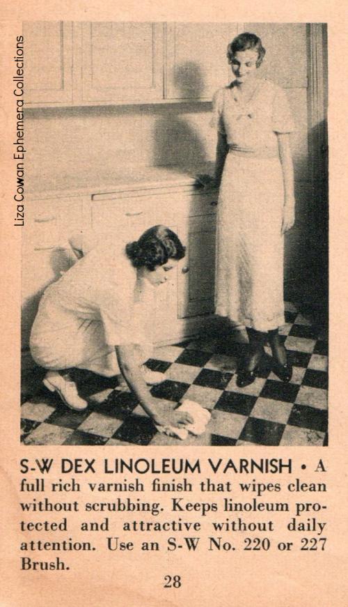 Sherwin williams 1934 dex linoleum varnish