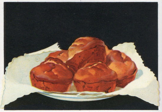 cornmeal muffins illustration merritt cutler