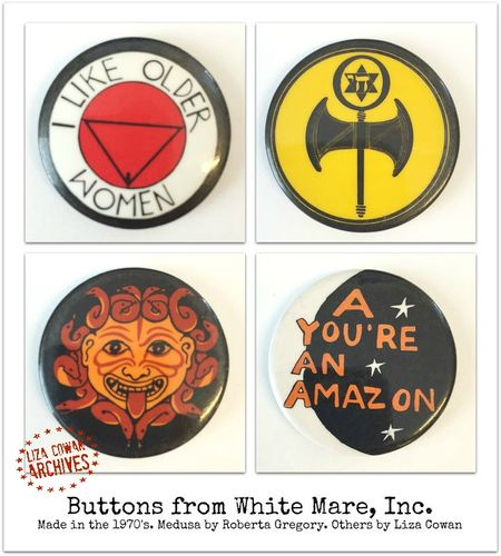 Buttons from white mare inc. liza cowan archives