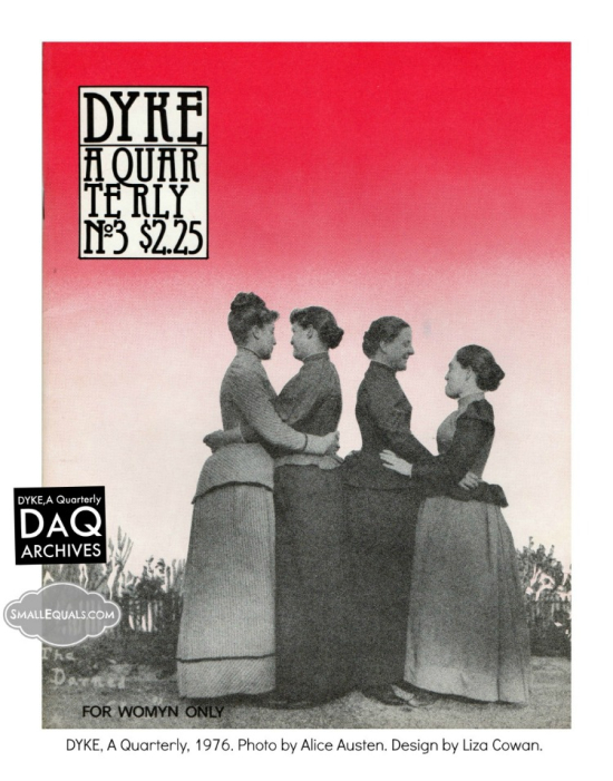 Alice austen  dyke a quarterly  cover  the darned club  digital download smallequals.com