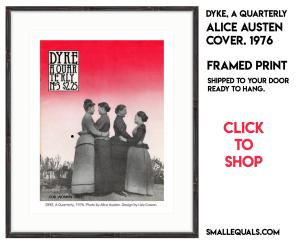 Alice austen cover ad for DAQ